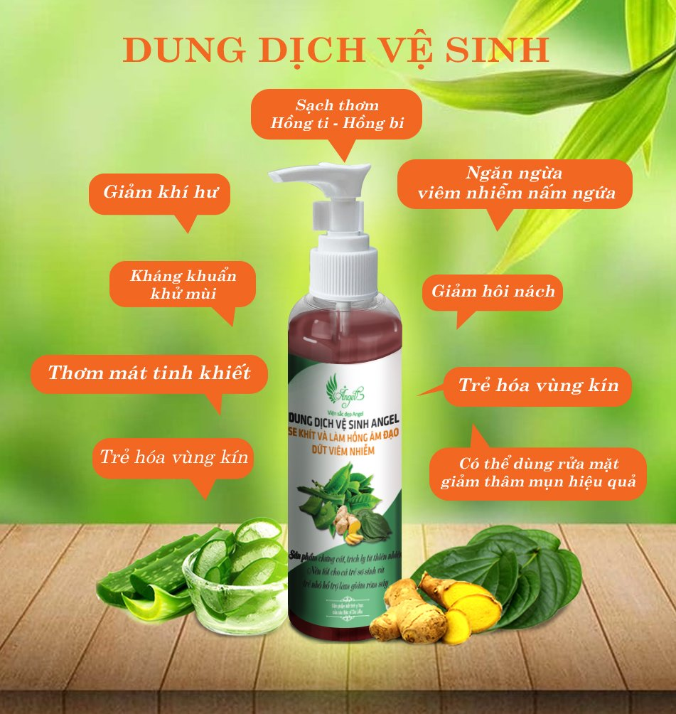 Dung Dịch Vệ Sinh Angel